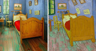 vincent van gogh bedroom artists recreate vincent van gogh s bedroom now on airbnb for 10