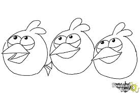 draw angry birds blues blue birds drawingnow