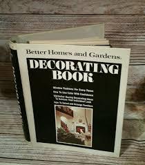 vintage 1975 better homes u0026 gardens decorating book mid century