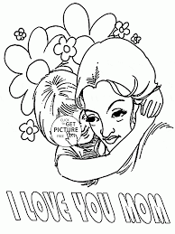 big huge for mothers day coloring page for kids coloring pages
