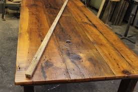 using reclaimed barn wood to build harvest tables u2026 work play