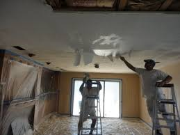 Painting Over Popcorn Ceiling by Tampa Bay Popcorn Ceiling Removal Interior Painting Contractor