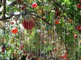 outdoor terrific hanging garden ornaments and accessories ideas
