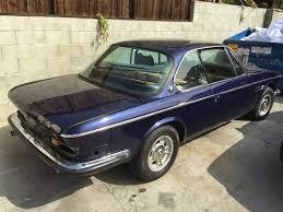 bmw e9 coupe for sale 1972 bmw 3 0csi coupe e9 blue manual parts 35k for sale