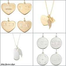 custom necklace charms fall wardrobe staple a custom engravable necklace gartner
