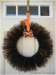 halloween wreath tulle halloween wreath the ribbon retreat blog