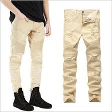 Ripped Denim Jeans For Men Online Get Cheap Ripped Jeans For Men Size 42 Aliexpress Com