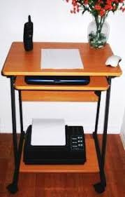 A Computer Desk Sts5806 24 Mini Computer And Laptop Desk Table With Wheels