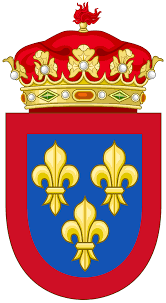 file coat of arms of the spanish house of bourbon dukedoms svg