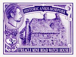 Discworld Map Discworld Stamp Catalogue Stamp Map For Treacle Mine Watch House