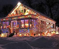 Christmas Decorated Houses 76 Best Christmas Overdose Images On Pinterest Crazy People