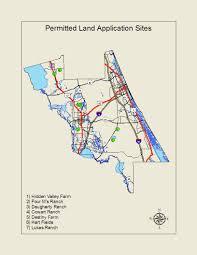 New Smyrna Beach Map Biosolids