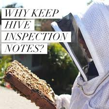 beekeeping like a why keep hive inspection notes