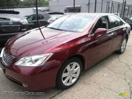 red lexus 2008 2008 lexus es 350 in royal ruby red metallic 240596