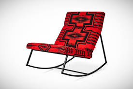 Rocking The Chair Pendleton Rocking Chair Limited Edition Costs 2 000 Curbed