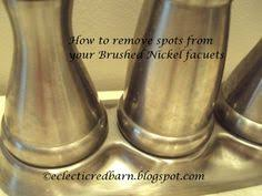 Cleaning Bathroom Faucets by How To Clean Brushed Nickel Bathroom Fixtures Bathroom Brushed