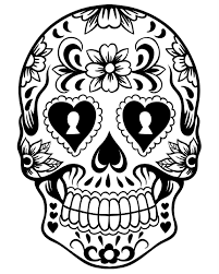 dead flower coloring page best abstract skull coloring pages web of flower styles and ideas