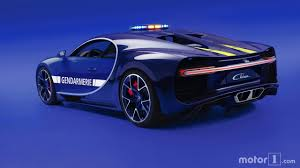 Pull Over French Police Gifted A Bugatti Chiron