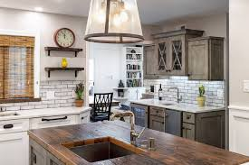 rustic wood kitchen cabinets reclaimed wood countertops archives wood countertop
