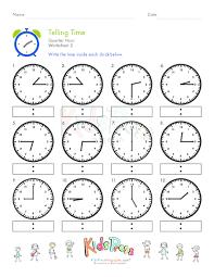 telling time quarter hour worksheet 2 kidspressmagazine com