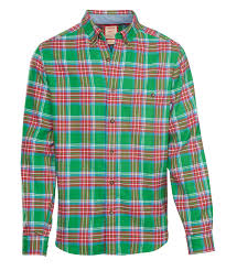 Flannel Shirts S Trout Run Flannel Shirt In Dogfish Plaid By Woolrich The