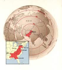Pakistan On The Map Detailed Location Map Of Pakistan Pakistan Asia Mapsland