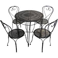 Cafe Style Table And Chairs Furniture Designhouse 4113s Bk Handcrafted Furniture Designhouse