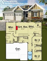archetectural designs eplans house plans encouraging architectural designs pact 3 bed