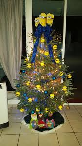 our family minions christmas tree our minions christmas tree