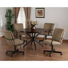 the paula dinette set made by douglas casual living is comfortable
