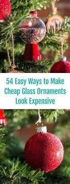 turn a plain ornament into a woodland creature easily