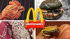 imagenes asquerosas de accidentes 10 cosas asquerosas encontradas en comidas de mcdonald s youtube