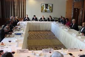 chambre de commerce franco russe visite du président du sénat m gérard larcher à moscou la