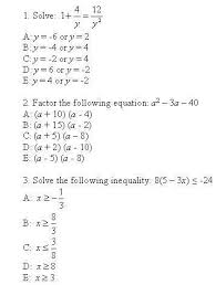 clep college algebra college algebra clep test