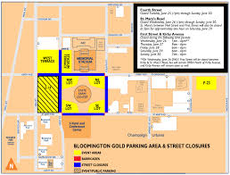 University Of Tennessee Parking Map by Parking And Traffic Information For Wsl Univ Of Illinois