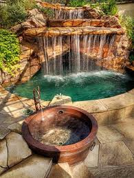 Best  Backyard Hot Tubs Ideas Only On Pinterest Diy Hottub - Backyard spa designs