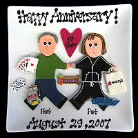 customized anniversary gifts wedding anniversary gifts by year 15 lading for
