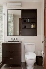 Recessed Wall Cabinet Bathroom by Splashy Recessed Medicine Cabinet In Bathroom Traditional With