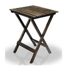buy delta range solid wood outdoor folding table for garden patio