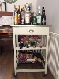 shabby chic style kitchen island trolley in westcliff on sea