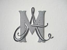 tailored custom monogram wedding ideas pinterest monograms