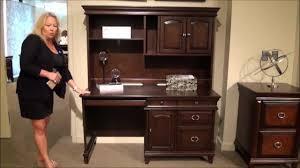 Sauder Orchard Hills Computer Desk With Hutch Carolina Oak by Kendall Computer Desk U0026 Hutch By Samuel Lawrence Furniture Home