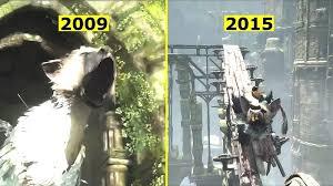 e3 2015 the last guardian s trailer compared to the 2009 e3