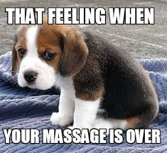 Funny Massage Memes - meme maker that feeling when your massage is over