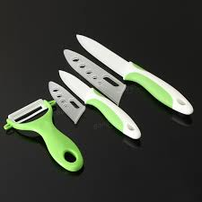 green zirconia ceramic knife peeler kitchen knife set at banggood