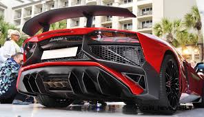Lamborghini Aventador Tail Lights - 2015 lamborghini aventador lp 750 4 superveloce makes usa debut in