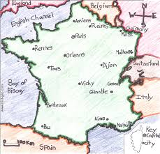 Rennes France Map by Ljhsrdube Licensed For Non Commercial Use Only Political Map