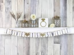 Bridal Shower Dessert Table Love Is Sweet Banner Dessert Table Sign Wedding Dessert Table