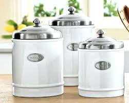 ceramic canisters for the kitchen metal kitchen canisters bloomingcactus me