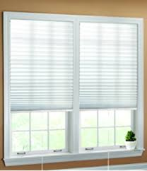 Pleated Blinds Amazon Com Luxr Blinds Pleated Fabric Shades With Easy Pull Cord